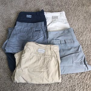 Men's Columbia Shorts Bundle